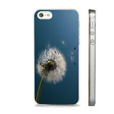 DANDELION ART NATURE WILD CLEAR CASE FOR IPHONE 4S 5 5S 5C 6 6S 7 8 SE X PLUS