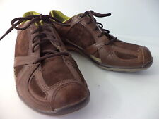 MERRELL ARIA EUR 36 US 6M RICH BROWN LEATHER LACE UP WALKING SHOE WOMENS