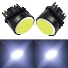 10X T25 3156 COB 12 SMD LED Car Tail Brake Light Stop Turn Light Lamp Cold White
