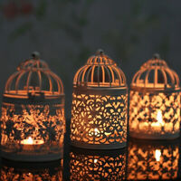 AU_ KE_ ALS_ Hanging Hollow Candle Organizer Stand Antique Moroccan Style super