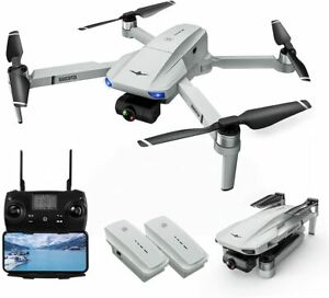 Drones with Camera for Adults, LARVENDER KF102 5G FPV Quadcopter Drone with 2-Ax
