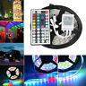 5M Bande Ruban LED Strip Flexible RGB 5050 SMD Non-étanche+44Key IR Remote