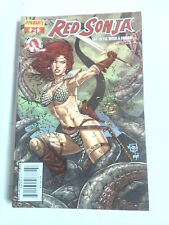 RED SONJA SHE-DEVIL WITH A SWORD n° 21 ( Dynamite  ) 2007 cover Jonathan Luna.