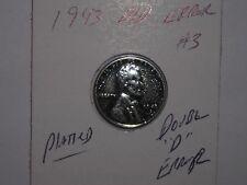 wheat penny 1943-D LINCOLN CENT DOUBLE ''D'' D/D ERROR LOT #3 NICE BU 1943D UNC