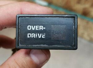 84-88 4Runner PICKUP CELICA OEM Over-Drive Indicator LAMP LIGHT DASH OEM USED 2