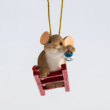 Charming Tails Highest Bough Mouse Ornament 4046960 Christmas New 2015
