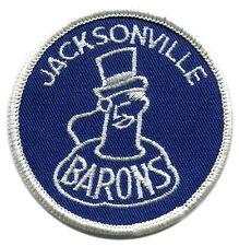 "1972-74 JACKSONVILLE BARONS AHL HOCKEY MINORS 3"" TEAM PATCH"