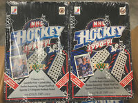Lot of 2 1990 Upper Deck High Series Hockey Box Sealed Jagr Bure Fedorov Free Sh