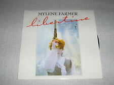 MYLENE FARMER 45 TOURS FRANCE LIBERTINE