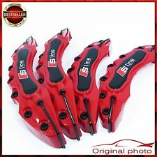 4x RED AUDI S Line Brake Caliper Cover Covers Universal Disc Racing Front Rear