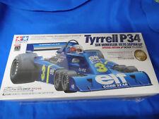 Rare RC-coche modelo Tyrell Six Wheeler f1 Tamiya 1:10 colección f103 f104