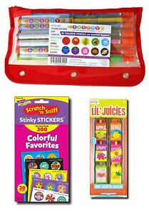 Scented Stationery Gift Pack - Scented Stickers, Pencils & Erasers £45+ RRP