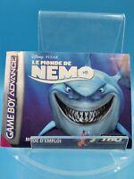 jeu video notice BE nintendo gameboy advance FRA monde de nemo & indestructibles