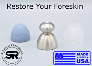 Stainless Steel Retainer - Stealth Retainers - Restore Your Foreskin
