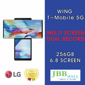 LG Wing 256GB- Aurora Gray (T-Mobile) Smartphone