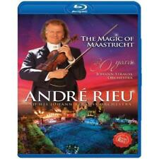 ANDRE RIEU MAGIC OF MAASTRICHT 30 YEARS BLU-RAY ALL REGIONS NEW