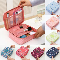 Women Travel Cosmetic Makeup Bag Toiletry Box Case Organizer Storage Pouch Bag