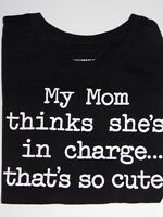 """Infant Toddler Girls 12 18 24 Month Shirt """"My Mom"""" Short Sleeves Childrens Place"""