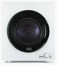 Black+Decker 2.65-cu ft Portable Electric Dryer (White) Barely Visable Dent