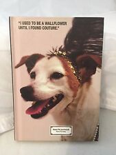 """Juicy Couture Emma the Jack Russell Wallflower Unlined Journal 6"""" x 4"""" (RARE)"""