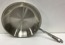 """All-Clad Metalcrafters Local 10"""" fry pan stainless new"""