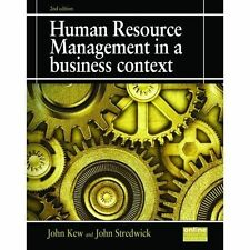 Human Resource Management in a Business Context by John Kew, John Stredwick (Pap