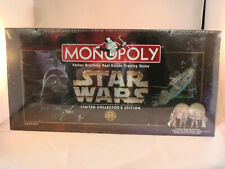 Monopoly Star Wars Collectors Ed, Factory Sealed 20yr Celebration (1996) #40786