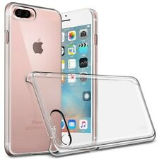 Thin Plastic Clear Case For iPhone 7 Plus, 8 Plus Hard Back Cover