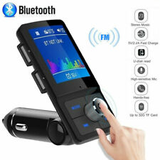 Inalámbrico Bluetooth Manos Libres Kit para Automóvil Reproductor MP3 Transmisores Fm Usb Cargador Aux