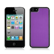 For iPhone 5 5S SE METAL Aluminum HARD Protector Case Snap On Phone Cover Purple