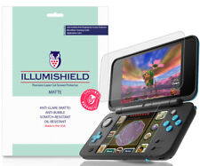 3x iLLumiShield Matte Screen Protector Anti-Glare for Nintendo 2DS XL