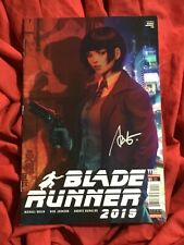 Blade Runner 2019~Titan Comics Book~Signed By Stanley Artgerm Lau~B