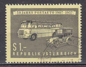 AUSTRIA used 1957 SC# Nr 617 Austrian Postal Motor Coach Service