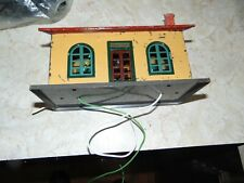 1930 LionelTown, small station #127. Lighted All metal. Some paint defects