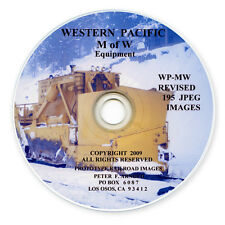 WP SN TS  Western Pacific Railroad  M of W Equipment  Slides on Photo CD