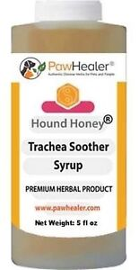PawHealer® Hound Honey: Trachea Soother Syrup - 150 ml (5 fl oz) - Natural He...