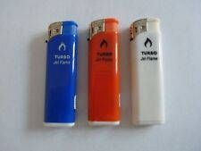 Jet Flame Lighter With Led Torch 3 Colours Lighting Cigarettes