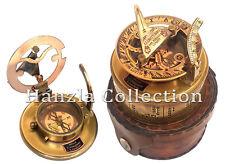 077c325f8937 Vintage Elliott Bro Latón Reloj de Sol Brújula Brújula Bolsillo Antiguo ~  Strand de Londres