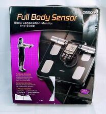 Omron Hbf-516b Full-body Sensor Body Composition Monitor & Scale (hbf516b)