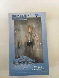 Disney Kingdom Hearts Roxas Action Figure Diamond Select Toys NIP