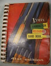 Original Lyman 1957 41 Edition  Ammunition and Reloading Catalog