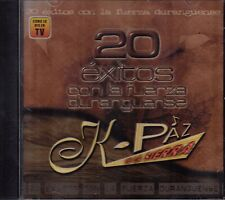 Kpaz De La Sierra 20 Exitos Con La Fuerza Duranguense CD USED LIKE NEW