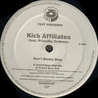 KICK AFFILIATES - Don'T Wanna stop - Feat. Priscilla Ordonez - 83 West