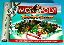 Monopoly Tropical Tycoon DVD Family Board Game Parker Games 2007