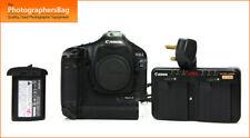 Cámara SLR Canon Eos 1D Mk Iii Digital cuerpo, y cargador de batería GRATIS UK FRANQUEO