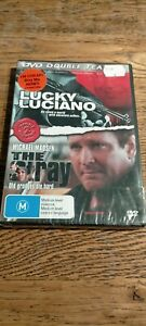 Lucky Luciano + The Stray DVD DOUBLE - Gangster Crime Mafia Movies NEW SEALED