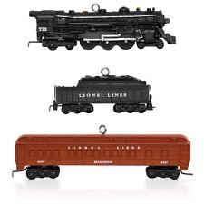 Lionel 2148WS Deluxe Pullman Set 2015 Hallmark Miniature Ornament - Trains NIB