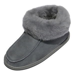 Lambskin Slippers - Ewa Ladies fur Shoes Slippers Genuine Sheepskin