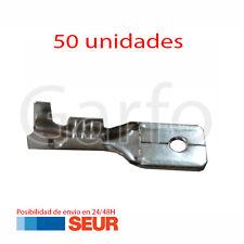 50X Terminal Faston 6,3 - 6.3 mm Macho