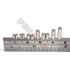Tiny Neodymium Disc Magnets 2mm 3mm dia x 1mm 1.5mm 4mm 10mm small craft magnet